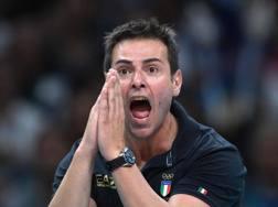 Chicco Blengini, 45 anni, allenatore della Lube Civitanova AFP