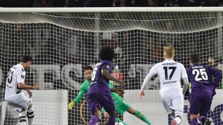 Stindl segna dal dischetto il gol del provvisorio 1-2. Ansa