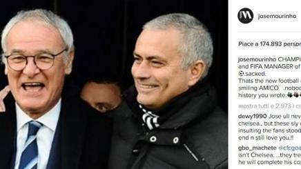 Claudio Ranieri e Josè Mourinho.