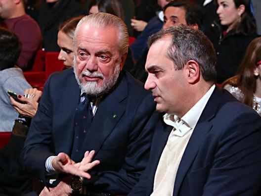 Aurelio De Laurentiis e Luigi De Magistris