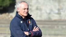 Andrea Mandorlini, al debutto sulla panchina del Genoa
