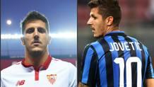 Stevan Jovetic in versione spagnola e in versione italiana