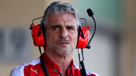 Maurizio Arrivabene, team principal Ferrari. Getty