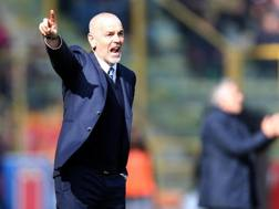 Il tecnico dell'Inter Stefano Pioli. Ansa