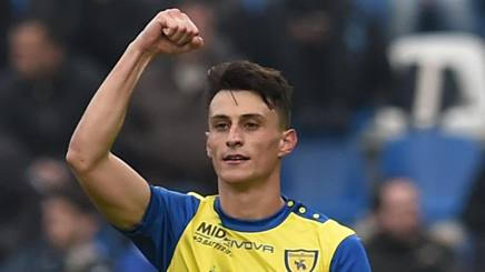 Roberto Inglese, attaccante del Chievo. Getty