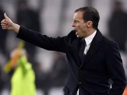 Massimiliano Allegri, 49 anni, allenatore della Juventus. LaPresse