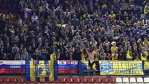 I tifosi del Rostov. Afp