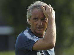 Roberto Mancini, all'Inter l'ultima esperienza in panchina. Getty