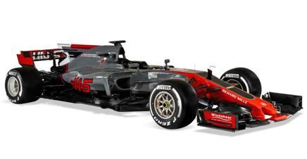 La nuova Haas 2017