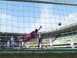 Il primo gol di Birsa. Ansa
