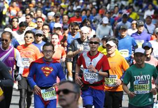 Maratona di Tokyo... il Carnevale giapponese