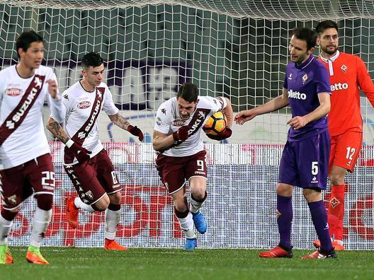 Andrea Belotti, 19 gol in campionato. Getty