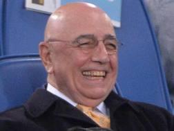 Adriano Galliani, 72 anni, amministratore delegato del Milan. Ansa