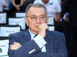 Giorgio Squinzi, 73 anni, patron del Sassuolo. LaPresse