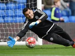 Marco Amelia, 34 anni, durante la sua ultima esperienza col Chelsea