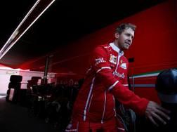 Sebastian Vettel  al Montmelò. Reuters