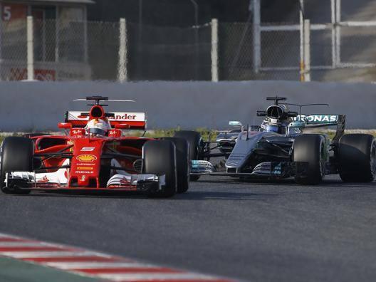 Vettel precede Bottas nei test al Montmelò. Ap