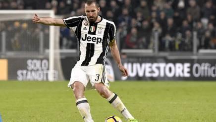 Giorgio Chiellini, difensore della Juventus. LaPresse