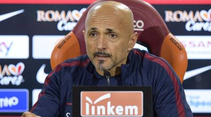 Luciano Spalletti, allenatore della Roma. Getty Images