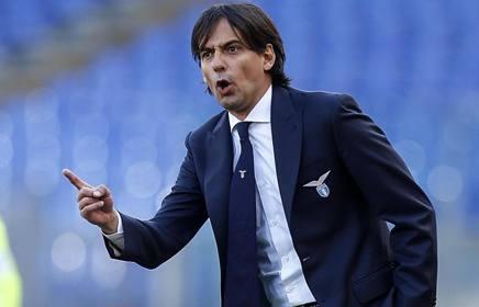 Simone Inzaghi, allenatore della Lazio. Ansa