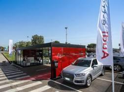 Una sede di ricarica dell'Audi