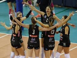 La festa di Modena a fine match