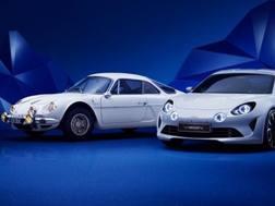 Renault Alpine, vecchio e nuovo modello