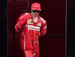 Kimi Raikkonen, un titolo con la Ferrari nel 2007. Afp