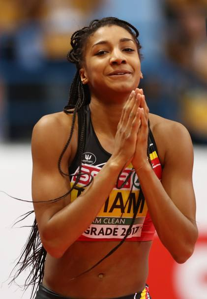 La pentatleta belga Nafissatou Thiam. Getty Images