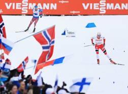 Il norvegese Finn Haagen Krogh in azione GETTY