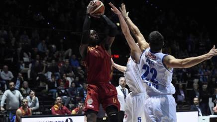 John Brown (Roma) al tiro contro Treviso. Ciam/Cast