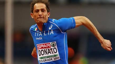 Fabrizio Donato, 40 anni, in azione. Getty Images