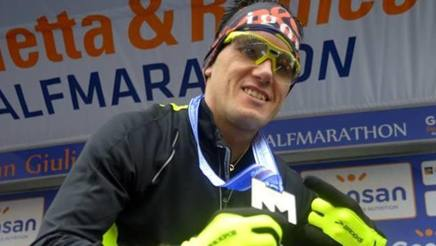 Igor Cassina in versione maratoneta