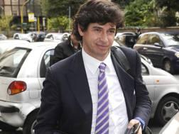 L'ex campione del Milan Demetrio Albertini, 45 anni. Ansa