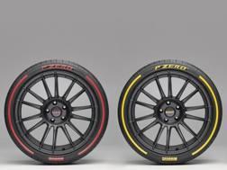 Le nuove P Zero colorate come in Formula 1