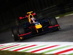 Pierre Gasly, vincitore del titolo GP2 2016. Getty