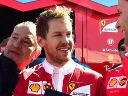 Sebastian Vettel, terza stagione alla Ferrari. Afp
