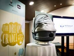 Il Dream Cradle di Renault nato dalla collaborazione con Chicco