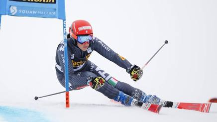 Federica Brignone in azione a Squaw Valley. Reuters