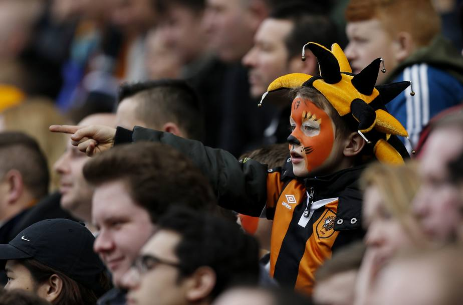 Piccolo fan dell'Hull City (Action Images)