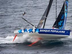 La barca di Armel Le Cleac'h, che ha vinto questa edizione