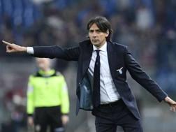 Simone Inzaghi, tecnico della Lazio. LaPresse