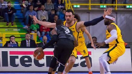 Verona ferma la Virtus Bologna