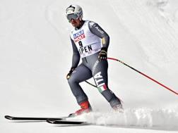 Peter Fill in azione ad Aspen. Reuters