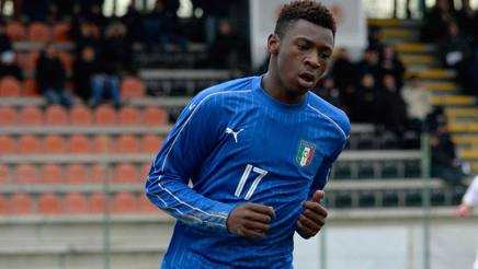Moise Kean, 17 anni. Getty