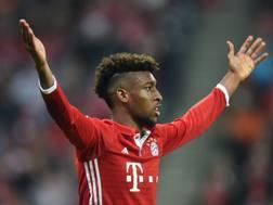 Kingsley Coman attaccante del Bayern Monaco. Afp