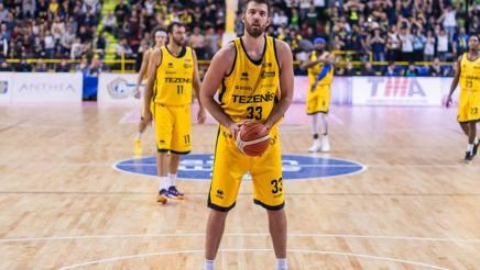 David Brkic., 210 cm, è secondo nel girone Est per la percentuale di triple, col 45.1%