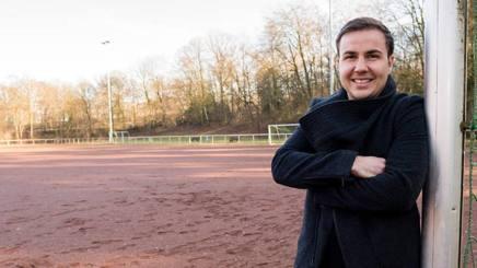 Mario Götze, 24 anni, centrocampista tedesco del Borussia Dortmund.