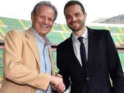 Maurizio Zamparini e Paul Baccaglini. Getty
