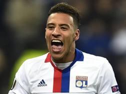 Corentin Tolisso, 22 anni, centrocampista francese del Lione. Afp